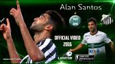 ALAN SANTOS MIDFIELDER CORITBA 2016 - YouTube